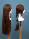 45 testa donna polistirolo parrucca