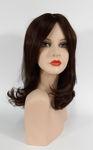 002 PARRUCCA CAPELLI NATURALI TIZIANA - Parrucca con capelli naturali