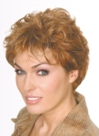 004 PARRUCCA SINTETICA CAROL MONO - Parrucca con capelli sintetici