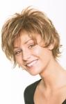 004 PARRUCCA SINTETICA DUDU MONO - Parrucca con capelli sintetici