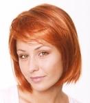 004 PARRUCCA SINTETICA NEW CARA MONO - Parrucca con capelli sintetici