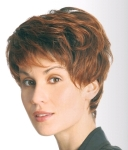 004 PARRUCCA SINTETICA NICKY MONO - Parrucca con capelli sintetici