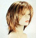 008 PARRUCCA SINTETICA LUNA - Parrucca con capelli sintetici lavorazione monofilamento
