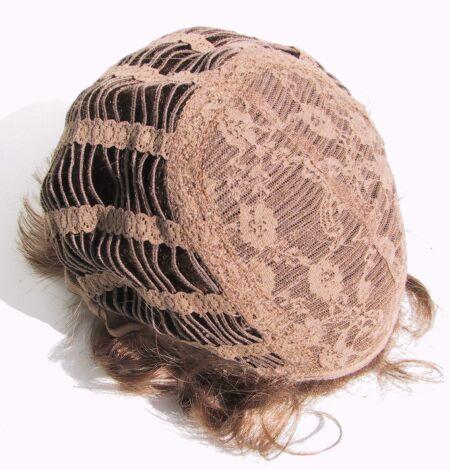 Lavorazione a tessitura della parrucca